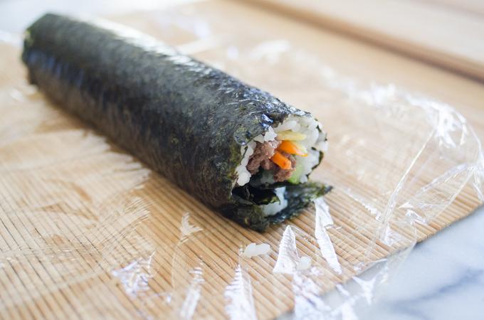 Ground Beef Gimbap - 김밥