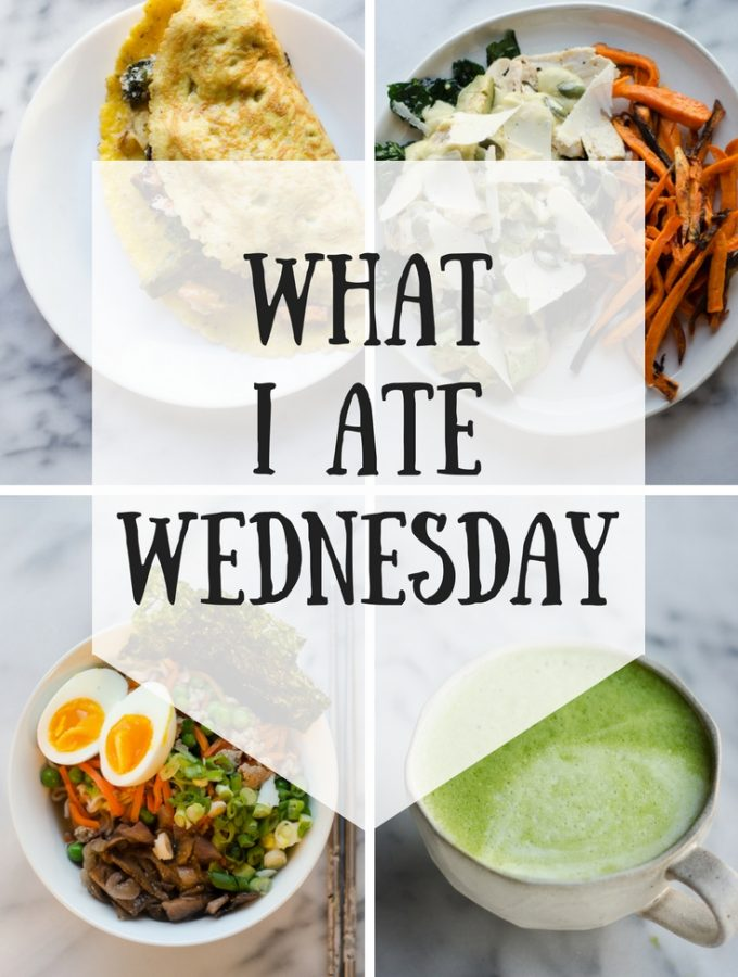 What I Ate Wednesday (2-28-2018)