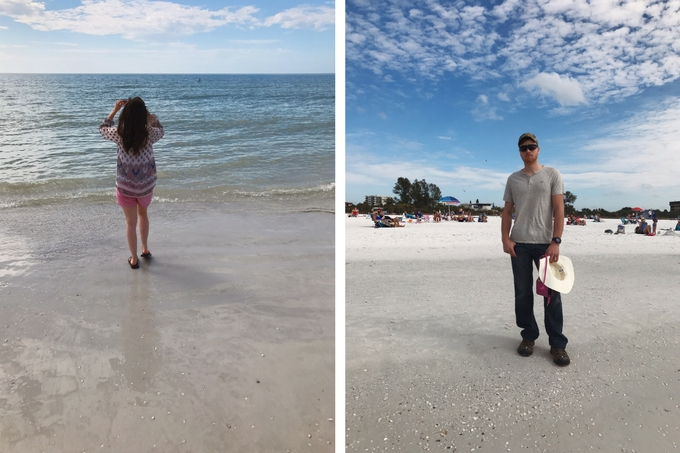 Our Florida Trip - Siesta Key Beach