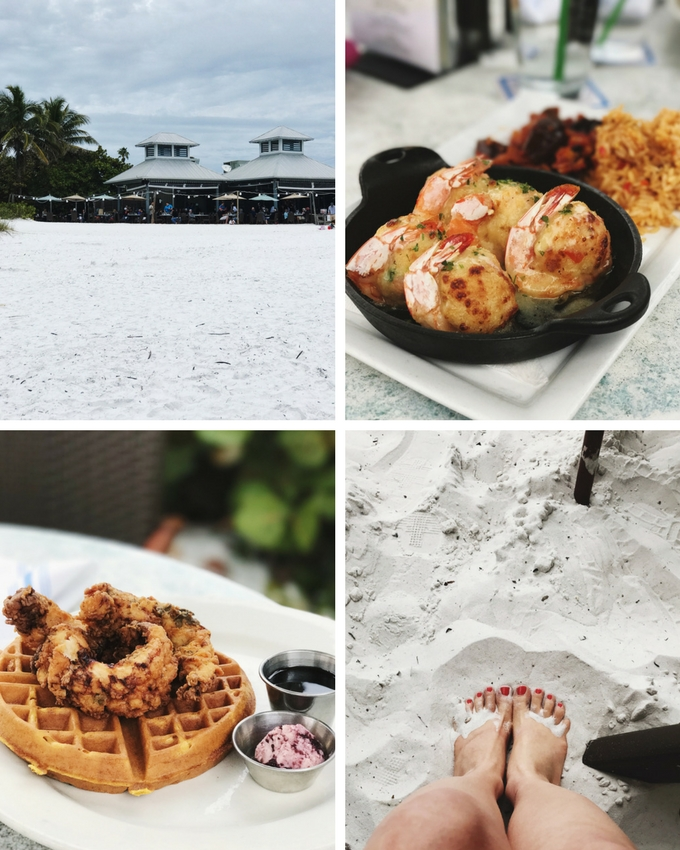 Our Florida Trip: The Sandbar Restaurant on Anna Maria Island