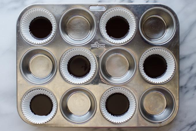 Homemade Healthy Dark Chocolate Peanut Butter Cups