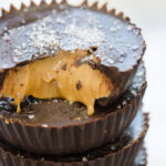 Homemade Peanut Butter Cups - Dark Chocolate and Healthy!