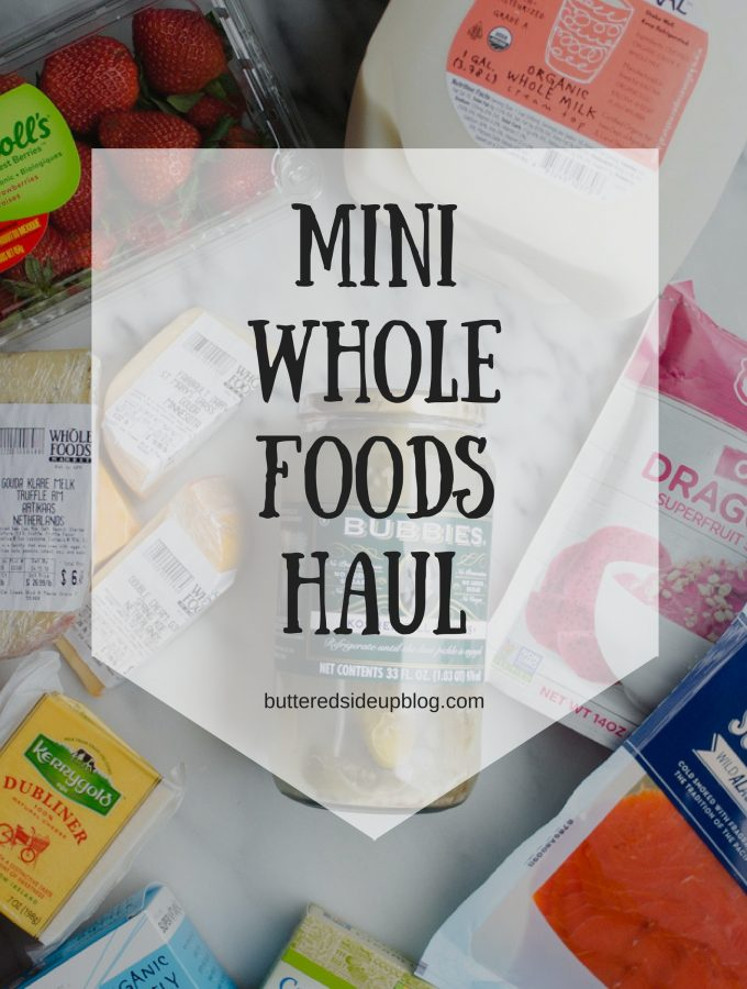 Mini Whole Foods Grocery Haul