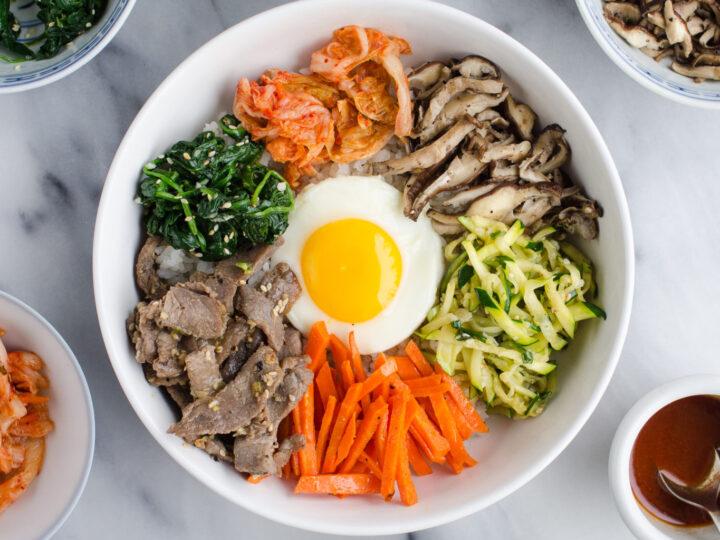 Bibimbap (비빔밥) - Korean Mixed Rice