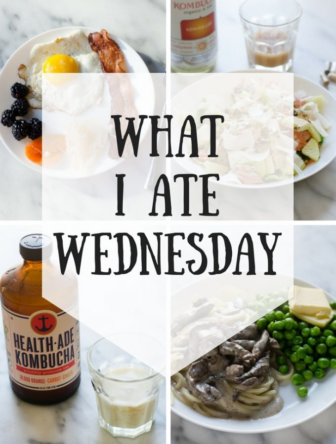What I Ate Wednesday (5-3-2018)