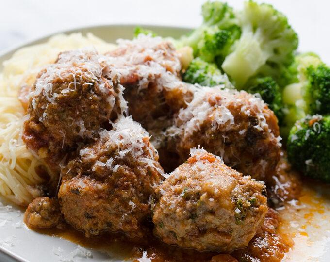 Tasty Tested- Mozzarella Stuffed Meatballs