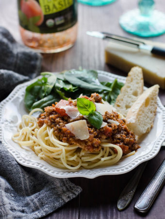 Elevating Canned Spaghetti Sauce + Health Update