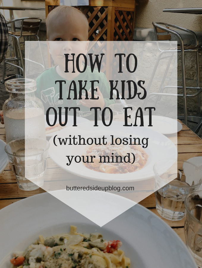 How to Take Kids Out to Eat
