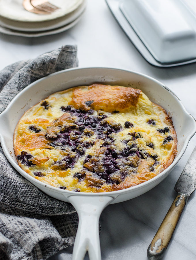 Sourdough Dutch Baby-German Pancake