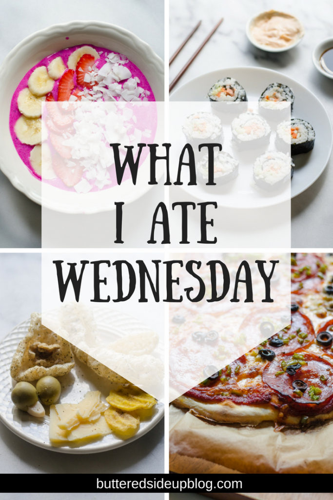 What I Ate Wednesday - healthy and organic meal ideas.