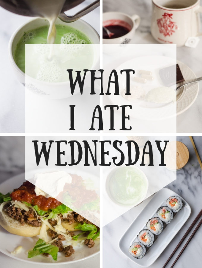 What I Ate Wednesday While Pregnant (11-26-2018)