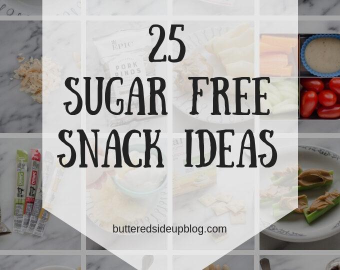 Sugar Free Snack Ideas