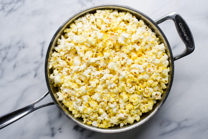 How to Pop Popcorn Over the Stove