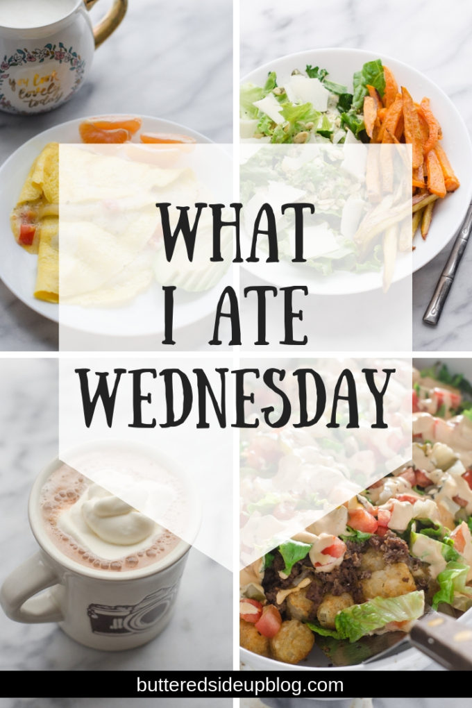 What I Ate Wednesday - First Day of Sugar Free January!