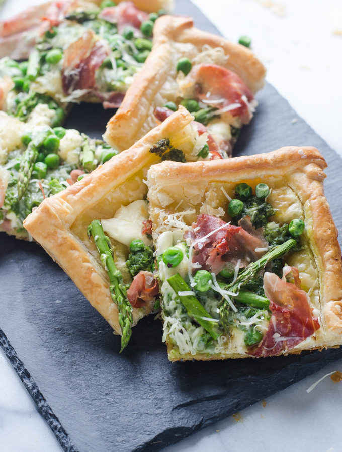 Spring Puff Pastry Tart + Life Lately