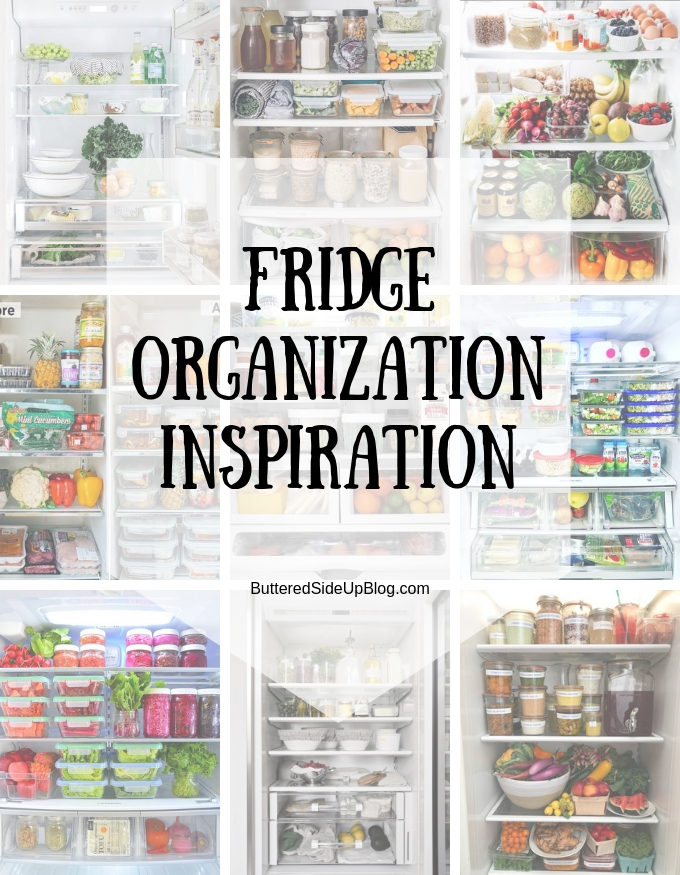 Fridge Organization Inspiration