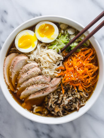 Ramen Recipe with Chicken and Veggies