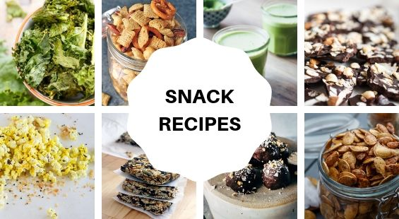 Collage of Snack Coconut Oil Recipes