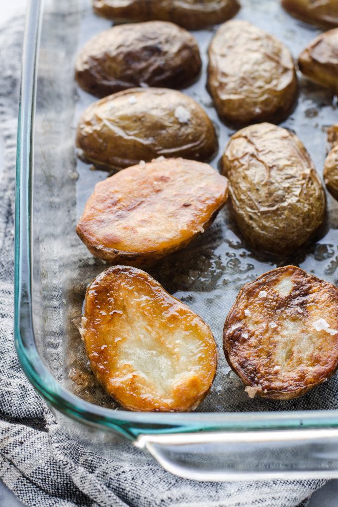 Coconut Oil Roasted Potatoes - coconut oil recipes