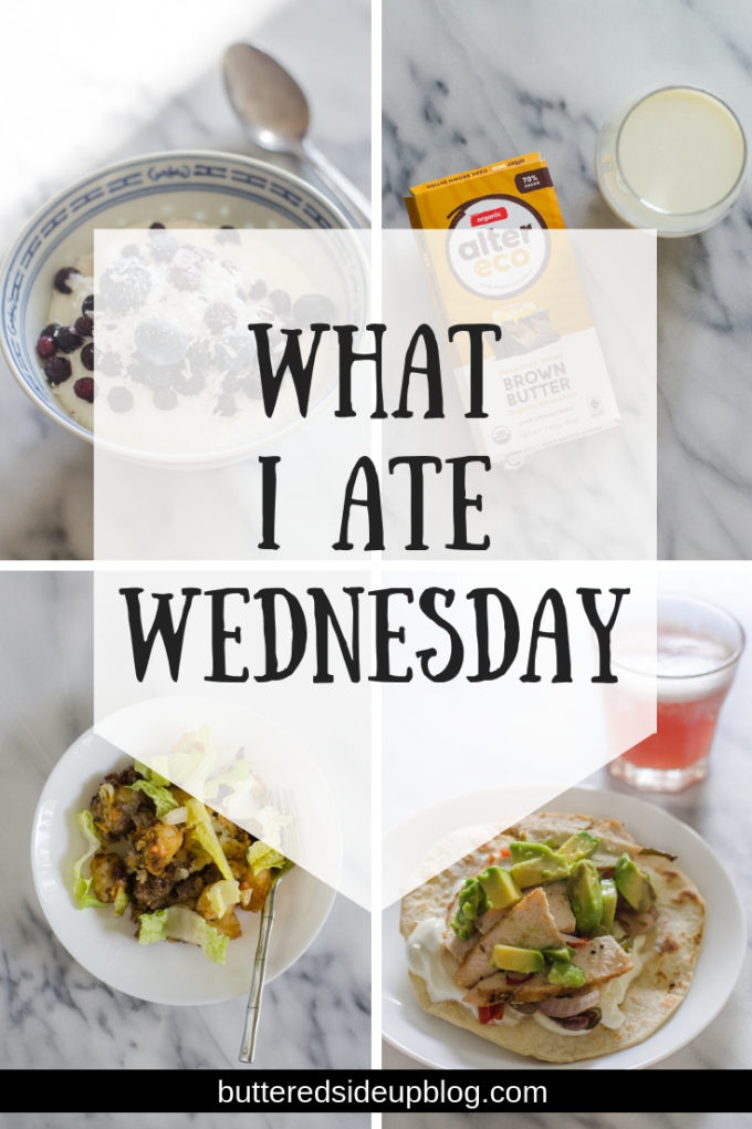 What I Ate Wednesday - July 2019