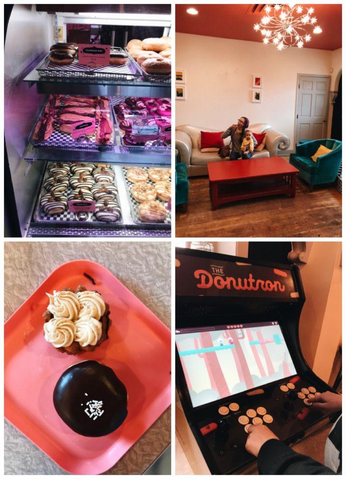 Fun Restaurants in Minneapolis: Glam Doll Doughnuts Minneapolis Minnesota