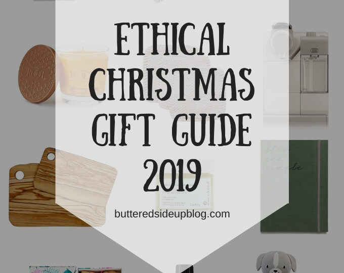 A collage of gift ideas and the words