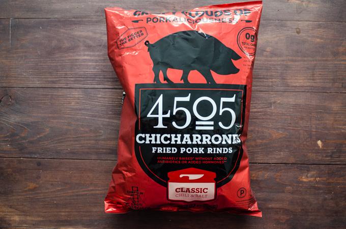 4505 Chicharrones (pork rinds) from Costco.