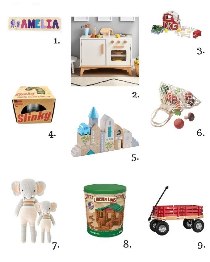 Ethical Kids Presents gift guide.