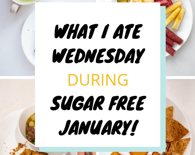 What I Ate Wednesday Gluten Free Dairy Free Sugar Free