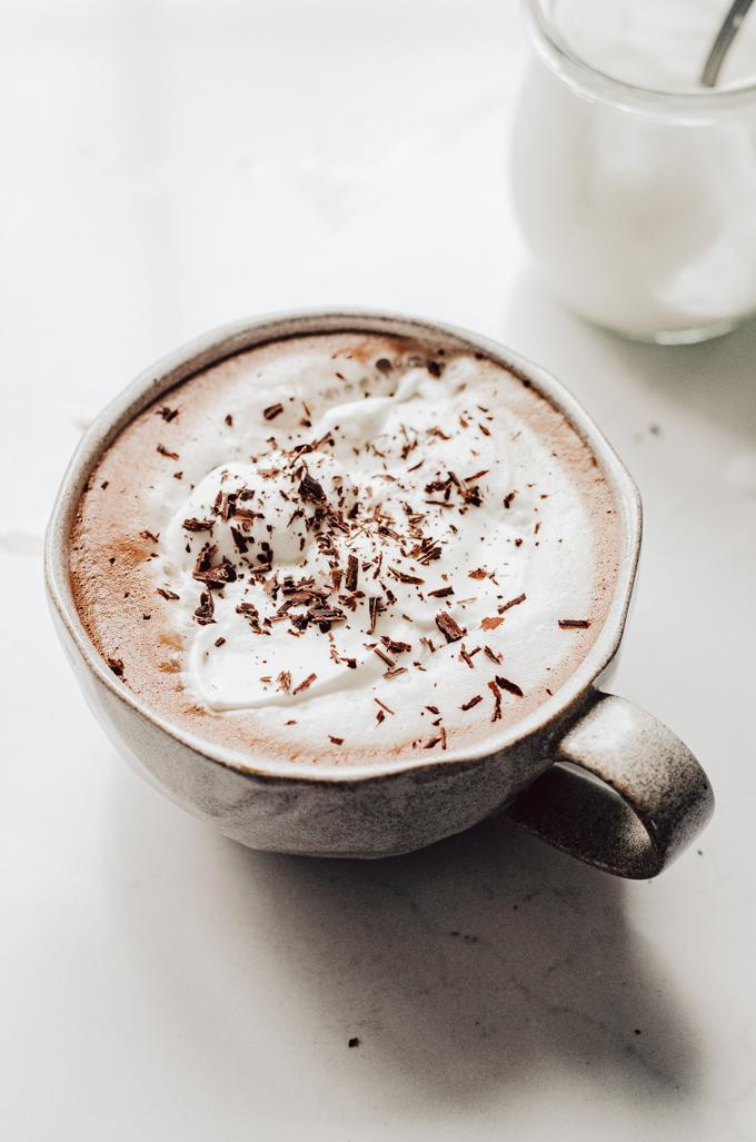 How to Make a Mocha Latte at home: Homemade Caffe Mocha!