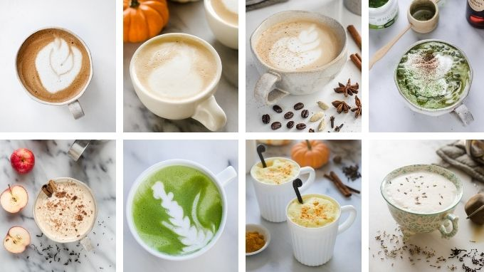 Healthy Recipes for Homemade Lattes