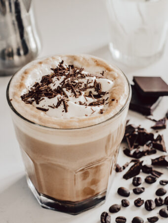 How to make a mocha latte at home | Caffe Mocha Recipe