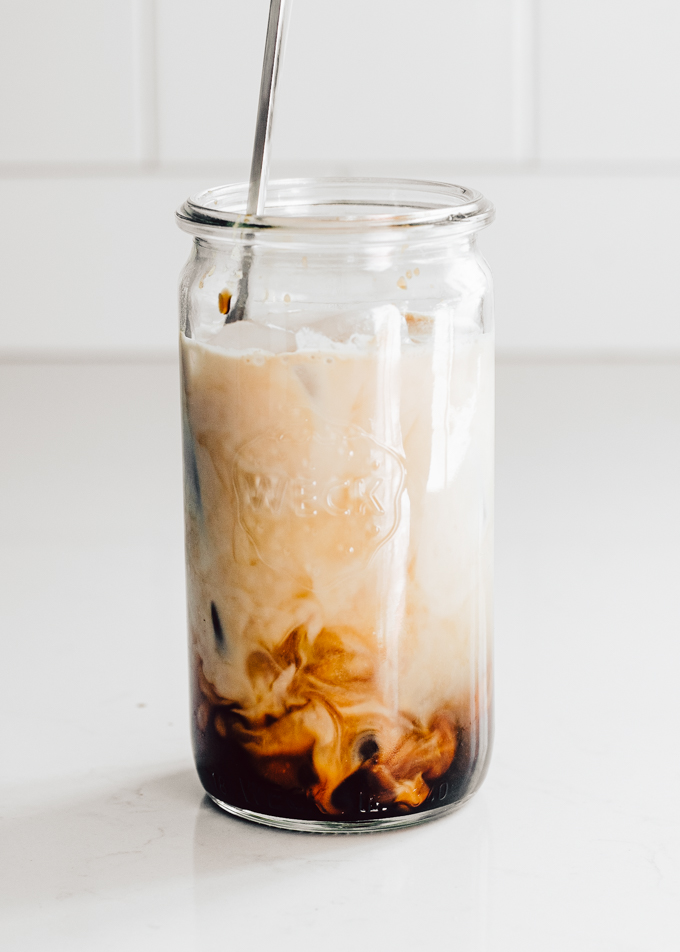Copycat Starbucks iced oat milk shaken espresso at home!