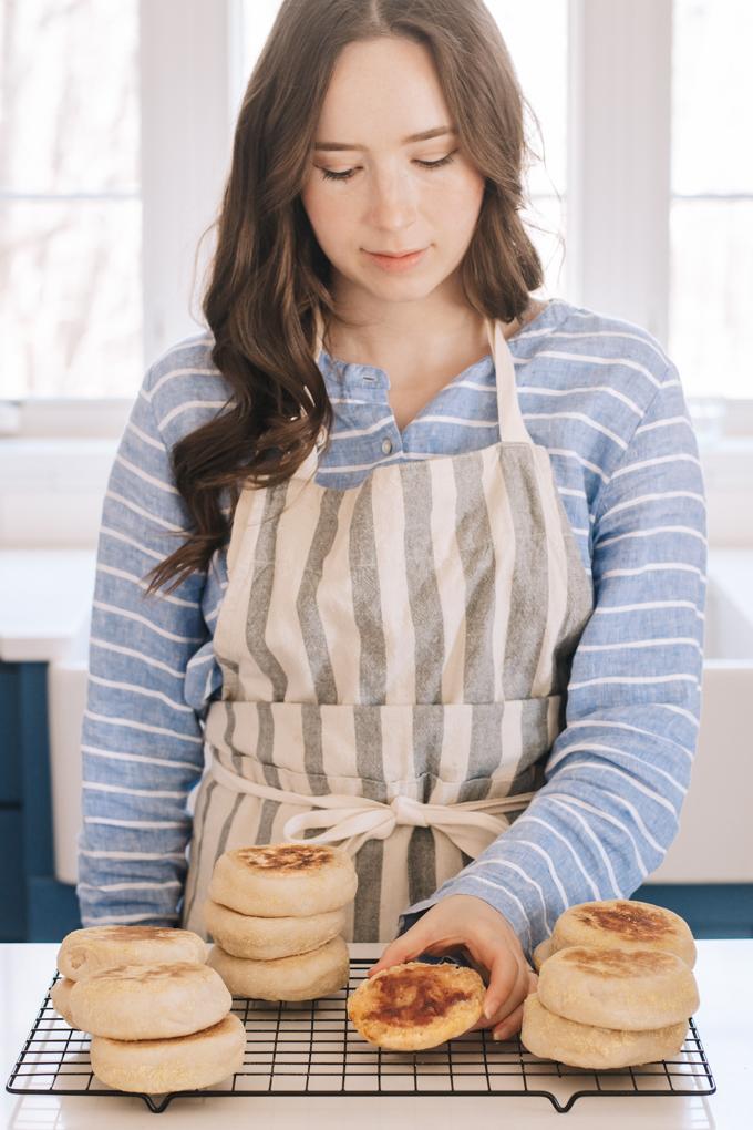 The Best Sourdough English Muffins Recipe