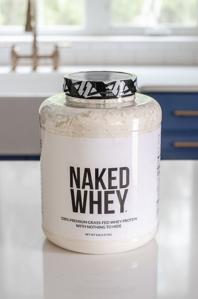 Naked Whey protein powder review.