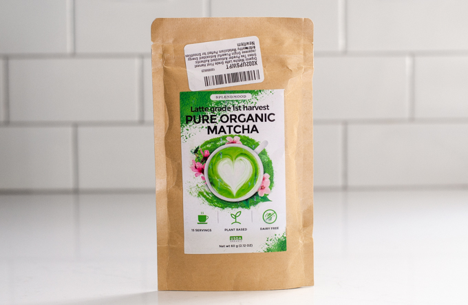 SplendMood latte grade matcha powder review.