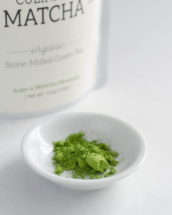 Mizuba culinary grade matcha.