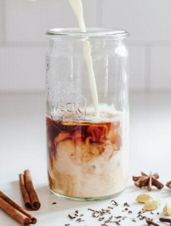 Homemade Iced Chai Latte Recipe